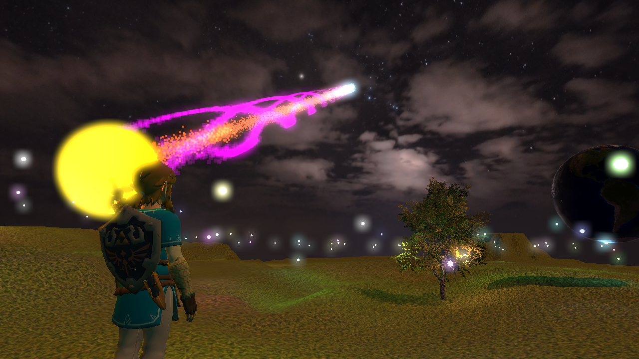 Particle systems & point lights